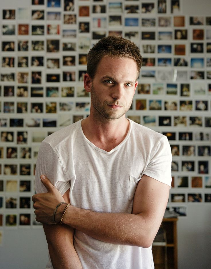 Patrick J. Adams photographed by Zack DeZon