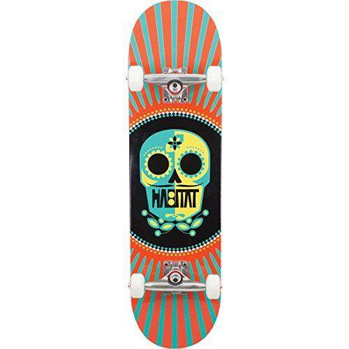 Habitat Skateboards Sugar Skull Complete Skateboard - 8.1 x 31.625 by Habitat. Habitat Skateboards Sugar Skull Complete Skateboard - 8.1 x 31.625.