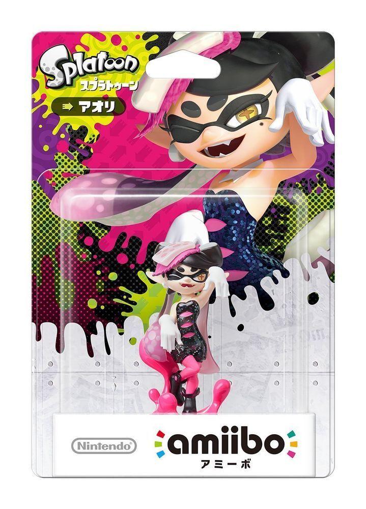 Nintendo amiibo Splatoon Squid Sisters Aori Callie 3DS Wii U Switch Figure F/S #Nintendo