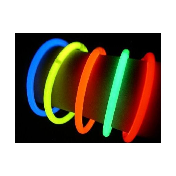 """Glow Sticks Bulk Wholesale Necklaces, 100 22"""" Glow Stick Necklaces... (650 ARS) ❤ liked on Polyvore featuring jewelry and necklaces"""