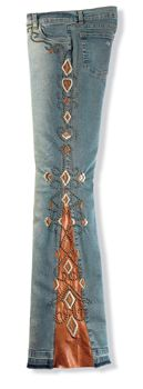 Timeless Blue Jeans - I'm not a cowgirl but these jeans are cool and I am ordering a pair!