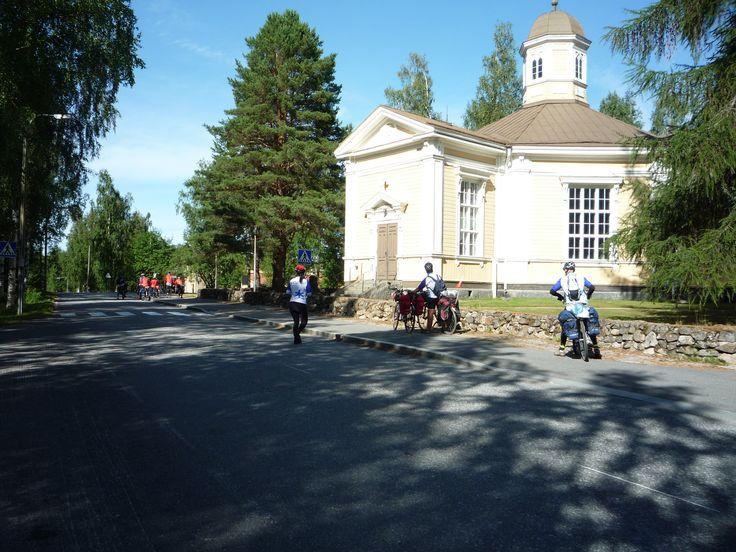 Church in Sumiainen, Central Finland