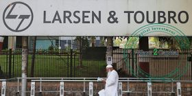 Larsen & Toubro in the 4th quarter 2016-17 net profit rises to 29.5% on Monday as it is a India's multinational corporation. In the previous year its net profit rises to Rs.3,025 crore from Rs. 2,335 crore.