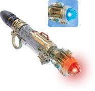 Doctor Who: Future Sonic Screwdriver (from the ABC shop) - River Song has this in The Silence In The Library.  And it's awesome! http://bit.ly/FPrFf2