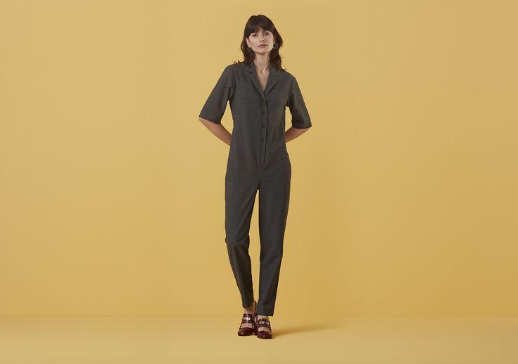 005 adler jumpsuits grey finery london 0392