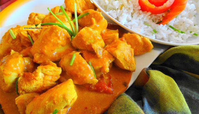 Surinaams eten – Caribbean curry chicken