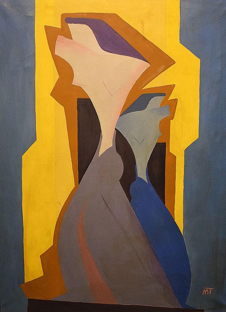 Mattis Teutsch (1884-1960) - Personaj în oglindă