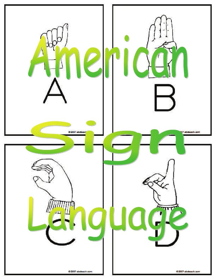 american sign language essay American sign language (asl) is a visual language with signing, the brain processes linguistic information through the eyes the shape, placement, and movement of the hands, as well as facial expressions and body movements, all play important parts in conveying information.