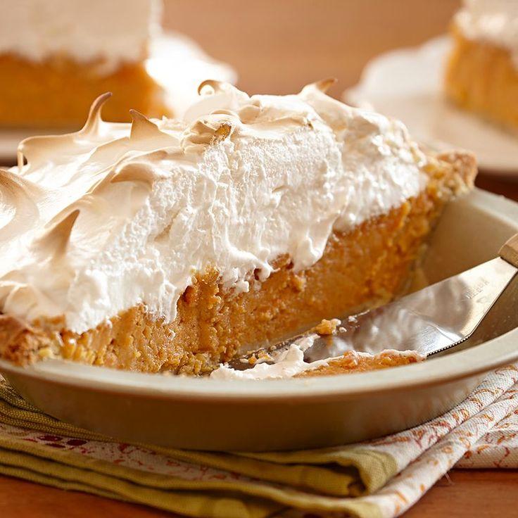 Sweet Potato Pie with Marshmallow Meringue Recipe
