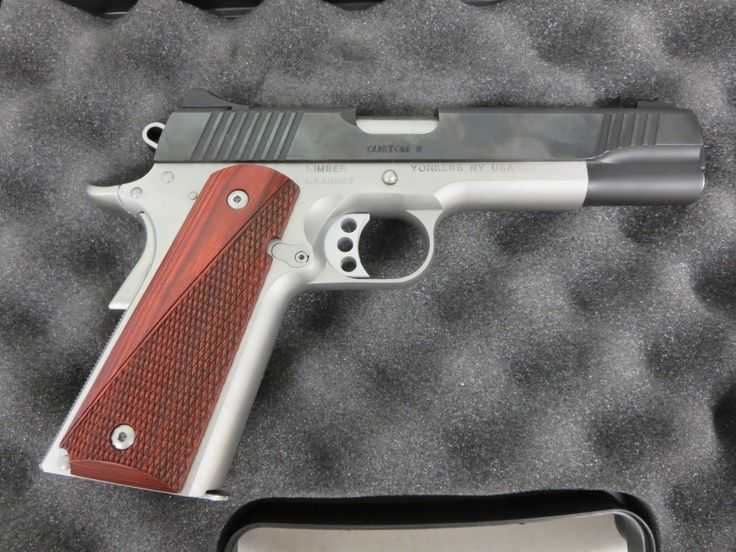 Used Kimber Custom II 1911 .45 acp w/ case $695 - http://www.gungrove.com/used-kimber-custom-ii-1911-45-acp-w-case-695/