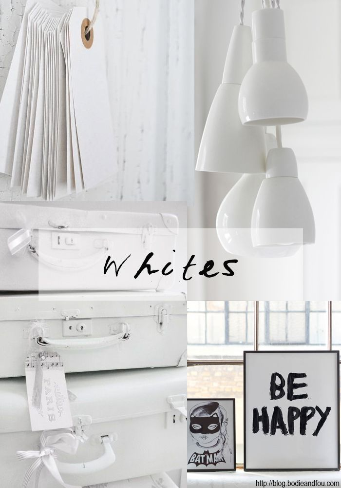 WHITES 06 | 2014  BODIE and FOU★ Le Blog | Effortless chic | French Interiors | Inspiring Design:  http://blog.bodieandfou.com/2014/05/whites-06-2014.html