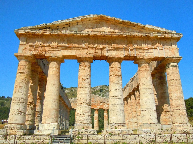 Templo segesta Sicily
