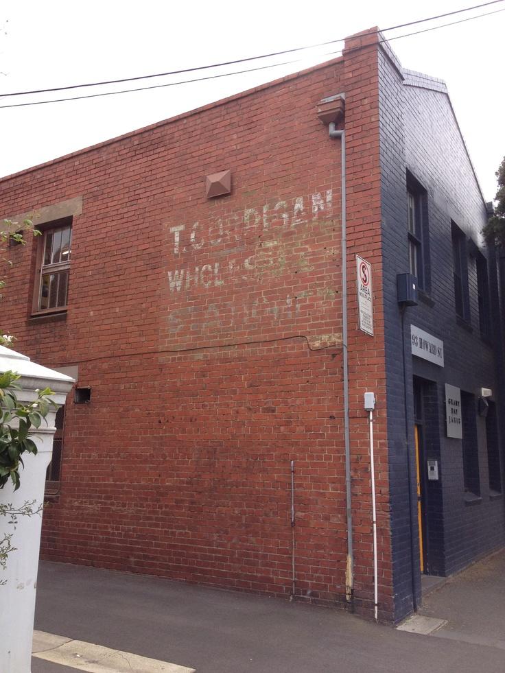 Corrigan Wholesale Stationer - Howard Street, North Melbourne.