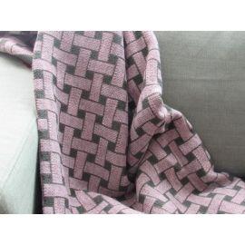 Basketweave Blanket - Olive Green