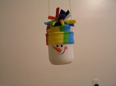 Baby Food Jar Ornament