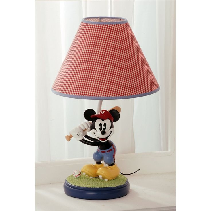 Kids Line Disney Vintage Mickey Lamp Base And Shade