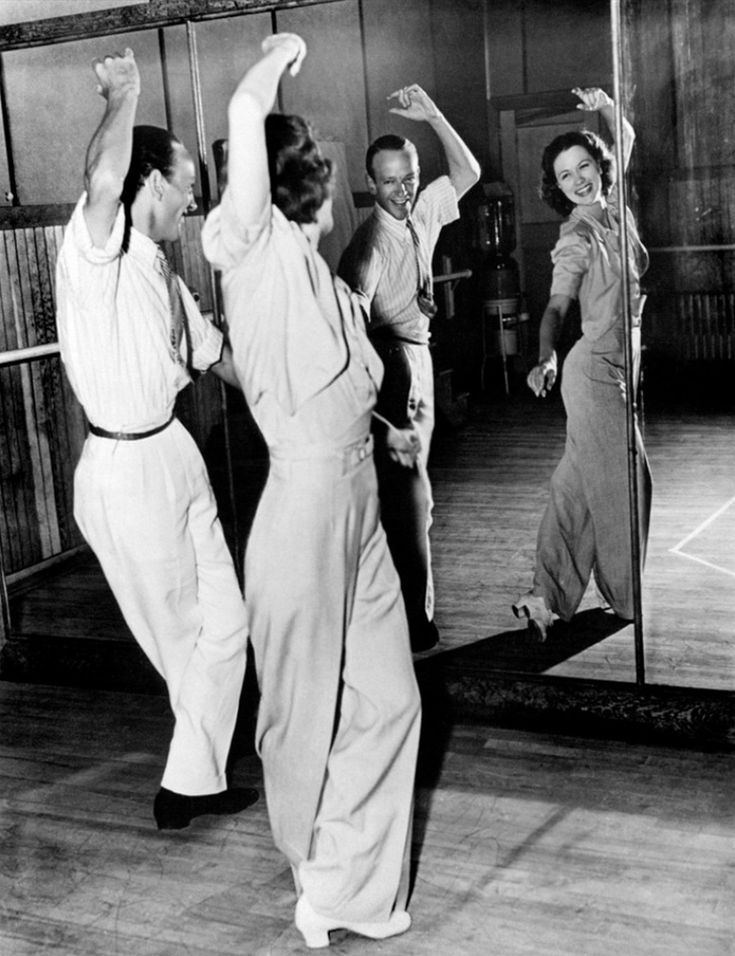 Fred Astaire and Eleanor Powell in Broadway Melody of 1940 directed by Norman Taurog, 1940