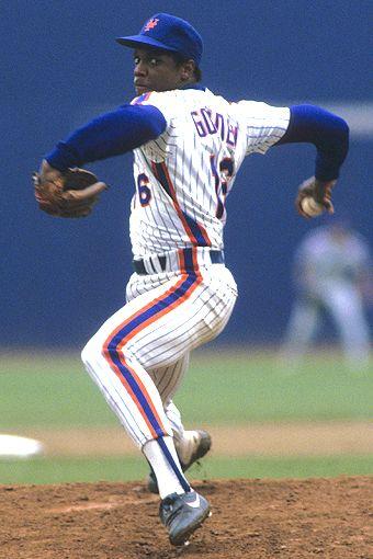 """""""Doc"""" Gooden New York Mets"""