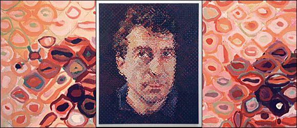 ARTseenSOHO -Chuck Close at Phyllis Kind
