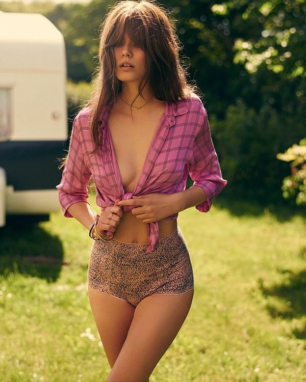 UnderProtection SS16. Lingerie campaign. 70´s hair. 70´s bangs…., Hot Babes Naked