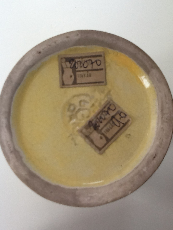 Gorka Géza mark and the historic price tag
