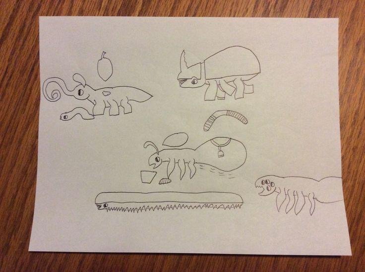 Les insectoïdes d'une autre dimension, gros comme des mammifères