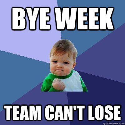 2016 NFL Bye Weeks