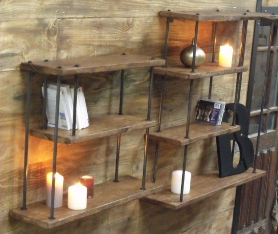 1000 images about tag re on pinterest loft design and - Etagere murale metal cuisine ...