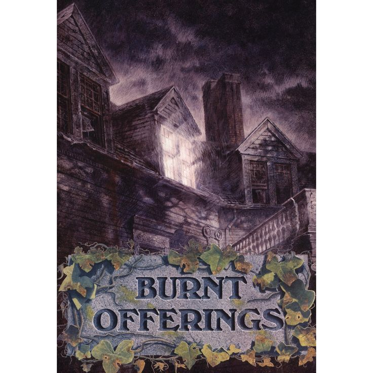 Burnt offerings (Dvd), Movies