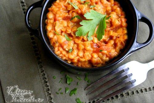 Curry de lentilles corail au lait de coco | Miam Chouchie