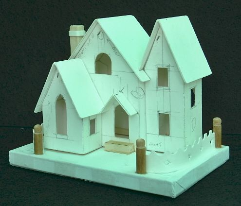 tips for building your own glitter houses