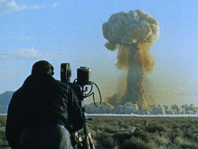Ever heard the sound of a nuclear bomb going off? Historian unveils one of the few surviving audio recordings of blast from 1950's Nevada tests