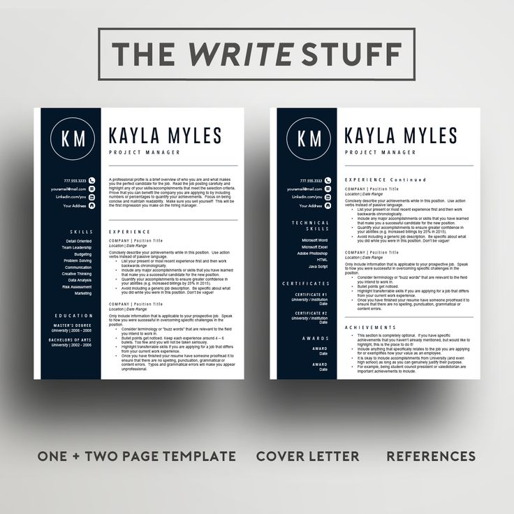 26 best resume templates cv templates images on pinterest cv easy to edit 2 page resume template upgrade your cv in 15 minutes and make yelopaper Image collections