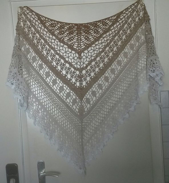 Edlothia Shawl- free English pattern with chart added--DDD