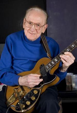 Les Paul the guy practically invented multitrack recording ;An innovative musician and recording artist who developed the solid-body electric guitar, Les Paul was born Lester William Polsfuss on June 19, 1915 in Waukesha, Wisconsin. He was American jazz, country and blues guitarist, songwriter, luthier and inventor. He was one of the pioneers of the solid-body electric guitar,