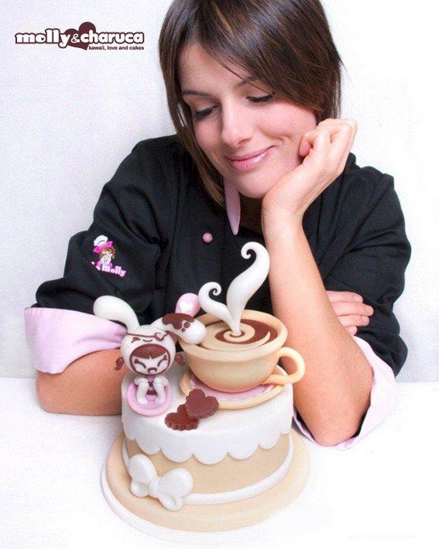 Molly Cake Artist : 1000+ immagini su Tutorial su Pinterest Fiori di ...