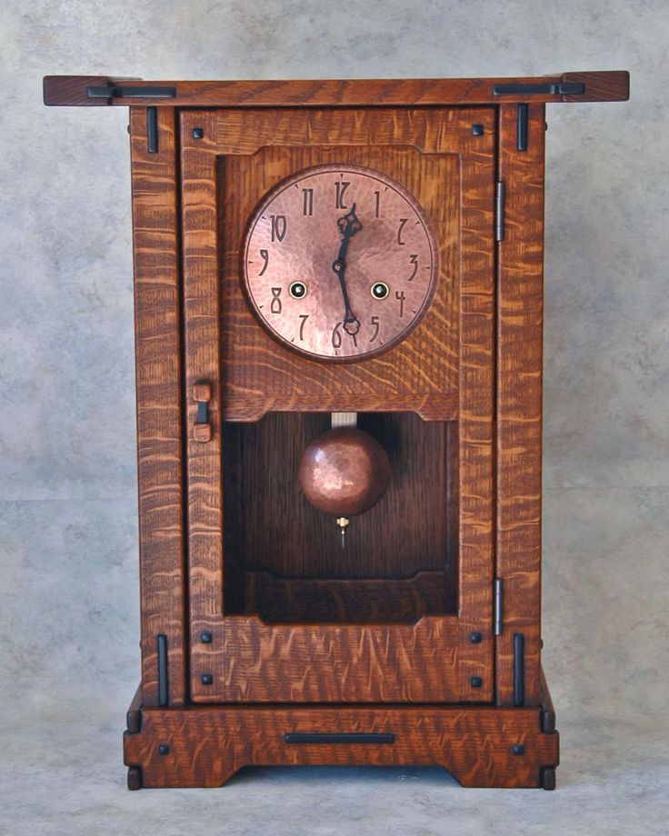 Stickley Mantel Clock Plans Woodworking Projects Amp Plans