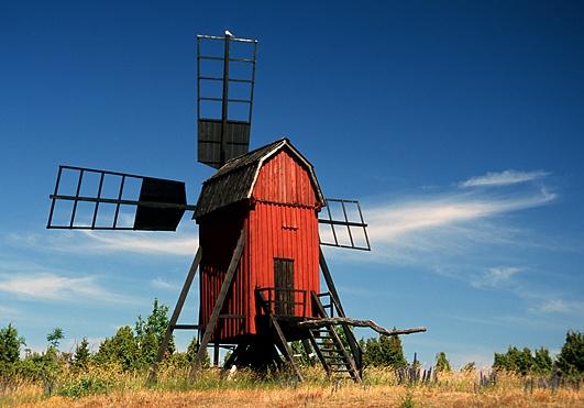 The windmills at Öland