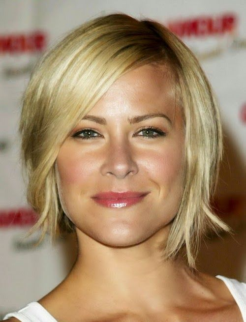 nice Short Hairstyles for Square Faces and Fine Hair