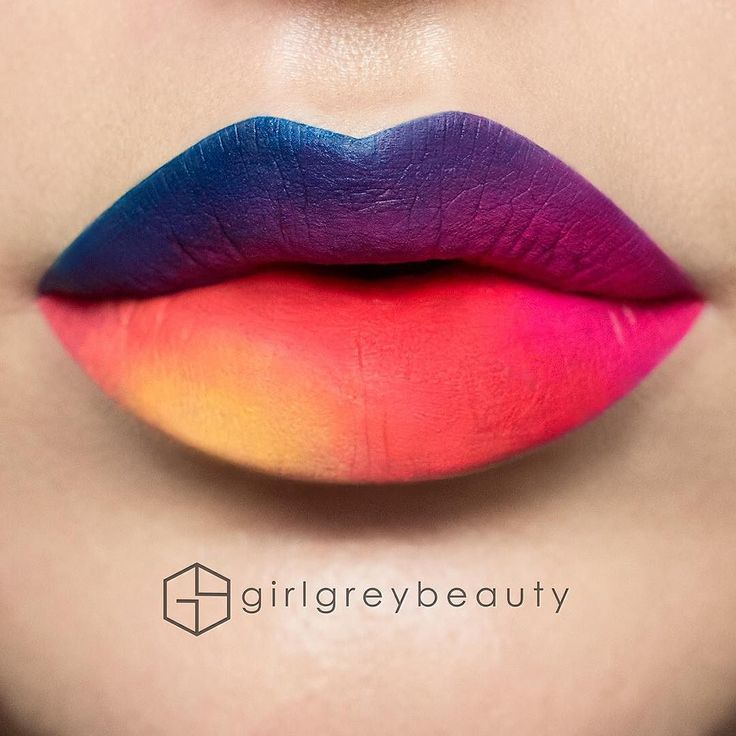 Step 1. What's it going to be?? Have you all updated @instagram?  This was done with all @anastasiabeverlyhills @norvina Liquid Lipsticks (Paint Vintage Rio Electric Coral and Neon Coral) and their Waterproof Creme Colour in Yellow) by girlgreybeauty