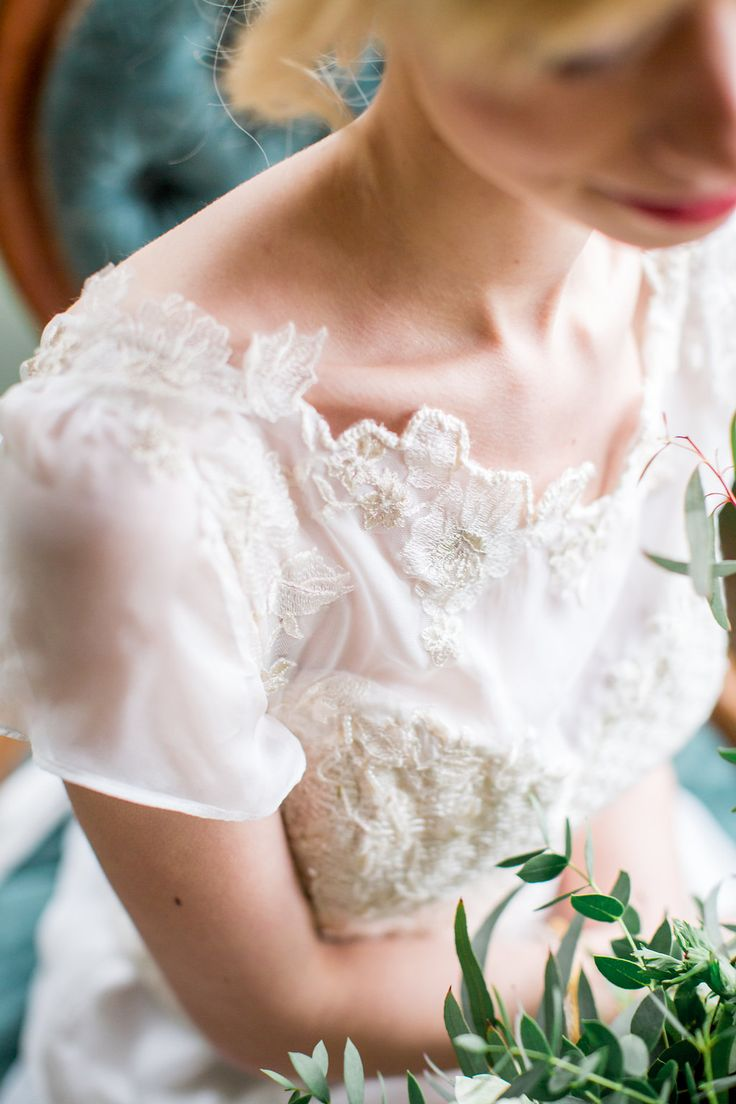 A stunning bridal bodice, made with a lace edge detail, with gold and ivory by Jessica Turner Designs.  A knitted bodice made from a silk yarn that gives a lovely sheen, and made with delicate lace chiffon sleeves designed for the modern romantic bride. Photography by Philippa Sian Photography.  As seen on Love My Dress.  Credits on the link.