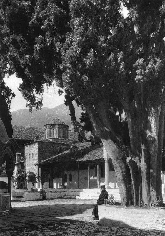 Άθως, η μονή μεγίστης Λαύρας, 1929