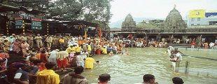 Trimbakeshwar Shiva Temple is located here. The origin of the sacred Godavari river is near Trimbak. http://dsgroupnashik.com/