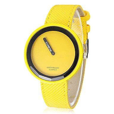Women's Watch Minimalism Round Dial Candy Color – AUD $ 4.93