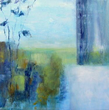 """Saatchi Art Artist Aase Lind; Painting, """"ÖRESUND II"""" #art"""