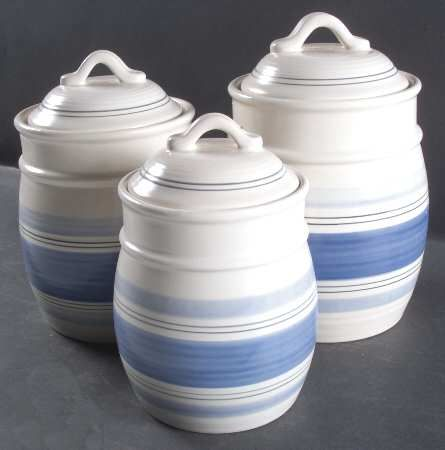 pottery ceramic soup tureen canisters