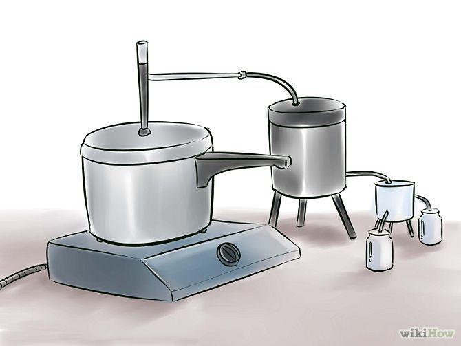 Cómo hacer aceites esenciales por destilación.
