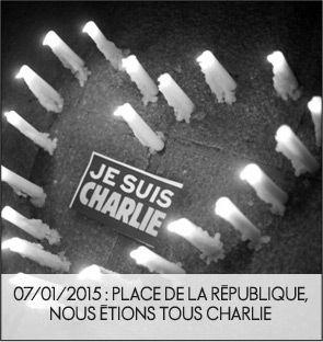 Place de la République, nous étions tous Charlie