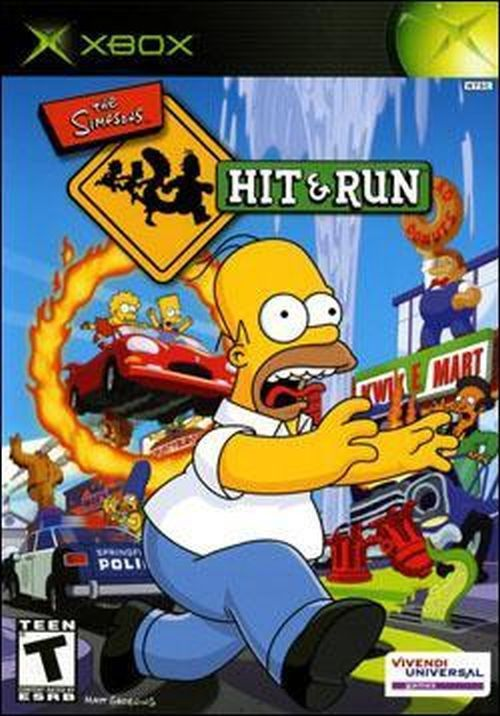 The Simpsons: Hit and Run (Microsoft Xbox, 2003) #simpsons #xbox #retrogames