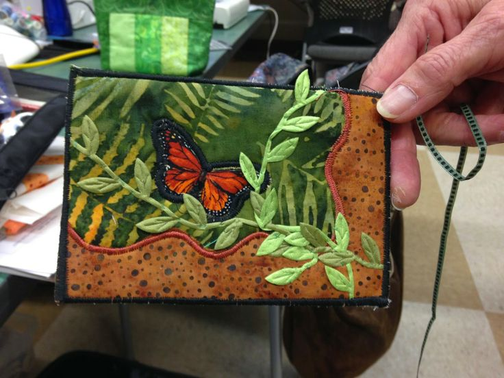 Quilt to the Edge: Postcard workshop with Bonnie Sabel and the Santiam Scrappers!!